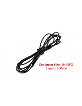 10AWG Soft Flexible Silicone Wire Cable (200cm)