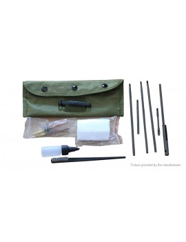 22CAL 5.56mm Rifle Gun Cleaning Kit (11 Pieces)
