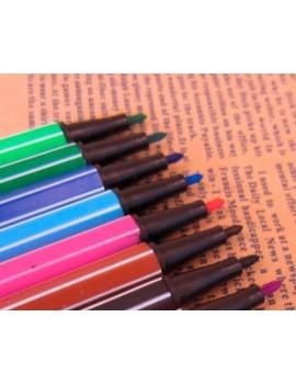 12 Pcs DIY Ink Card Making Colors Fine-tip Pens