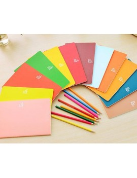 7 x 9 Inches 46 Pages Writing Composition Notebook Memo Book - Green
