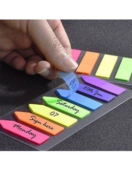 560 Pieces Sticky Page Marker for Book Set of 6