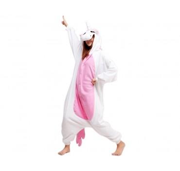 One Piece Pink Unicorn Pyjama - Large