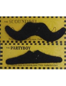 6 Pcs Costume Party Funny Fake Moustache