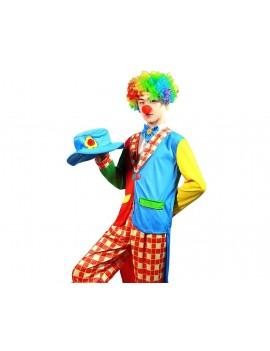 Colorful Clown Costume Set