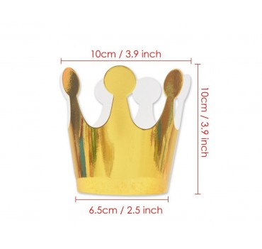 Paper Crown Party Hats 20 Pieces Party Crown