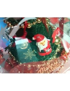 8'' Lighted Christmas Tree Music Box