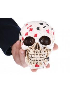 Decorative Poker Skull Head