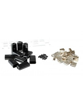 DIY Soldering USB Female Connector Kit (10-Pack)
