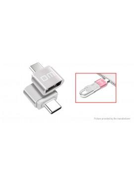 DM USB 2.0 to USB-C Charging / Data Sync Converter Adapter