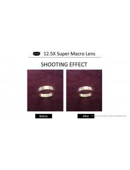 APEXEL APL-0.45WM 2-in-1 Clip-on Camera Lens Kit