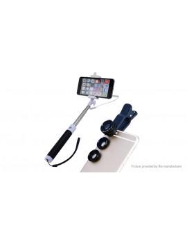 APEXEL 96CX3 4-in-1 Clip-on Camera Lens Kit