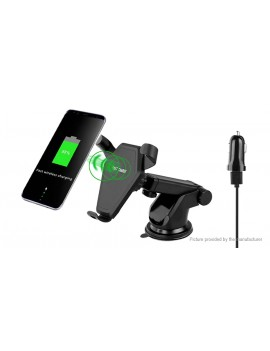 Car Suction Cup Cell Phone Holder Qi Inductive Wireless Charger
