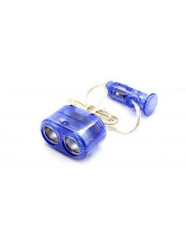 1-to-2 Sockets Car Cigarette Lighter