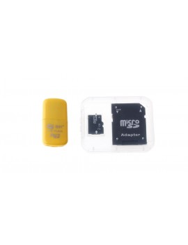 2GB microSDHC Memory Card w/ Card Adapter and Card Reader